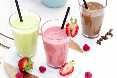 Ideal für Meal Prepping: Leckere Smoothies!