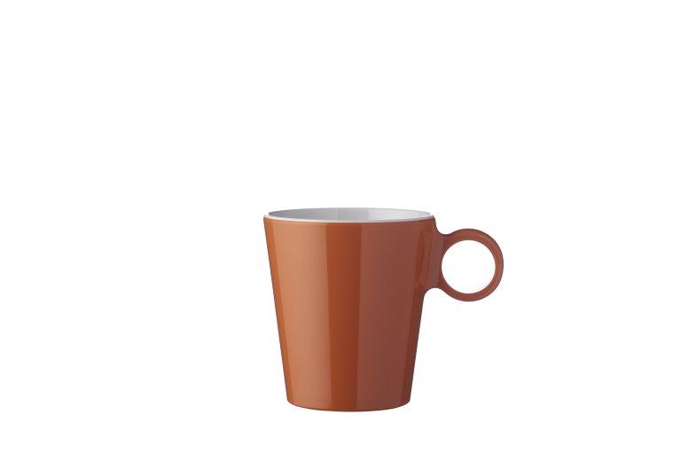 Espressotasse Flow 70 ml Terra Orange | Mepal