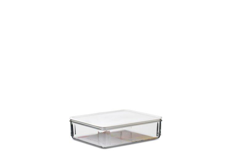 Kühlschrank Dose Aufschnitt : Kühlschrankdose lunch modul 165 weiß mepal