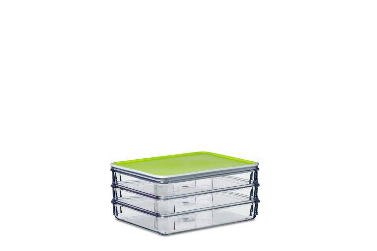 Kühlschrank Dose Aufschnitt : Kühlschrankdose aufschnitt modul 163 3 lime hellgrün mepal