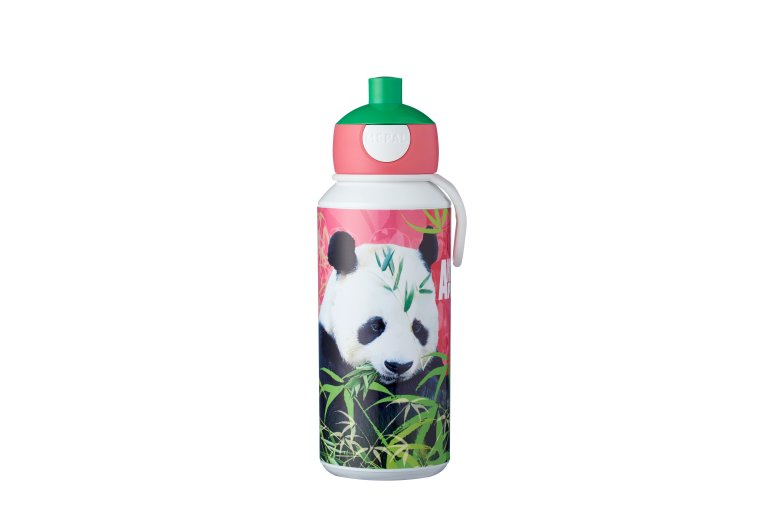 trinkflasche-pop-up-campus-400-ml-animal-planet-panda