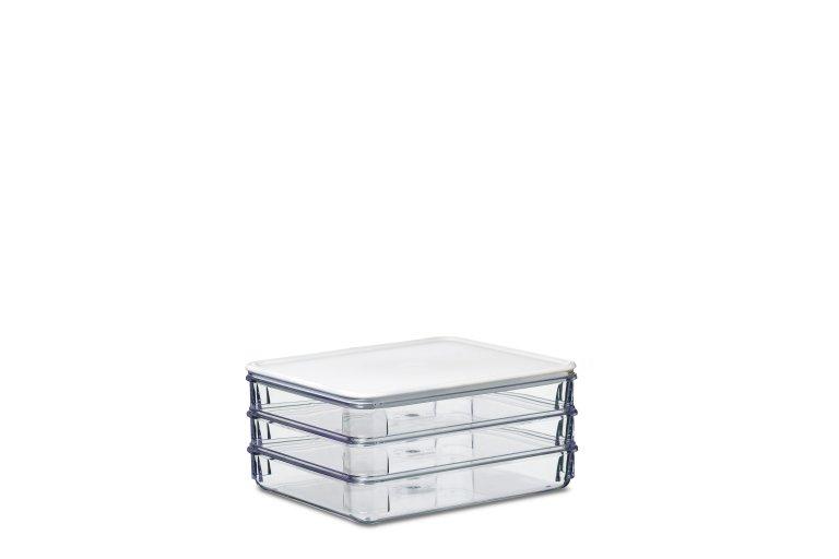 Kühlschrank Dose Aufschnitt : Kühlschrankdose aufschnitt modul 163 3 weiß mepal