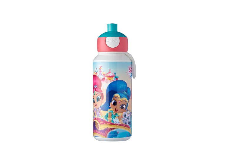 trinkflasche-pop-up-campus-400-ml-shimmer-shine