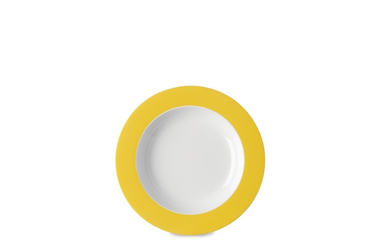suppenteller-wave-210-mm-latin-yellow
