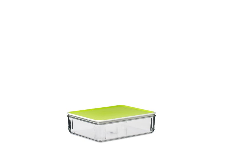 Kühlschrank Dose Aufschnitt : Kühlschrankdose lunch modul 165 lime hellgrün mepal