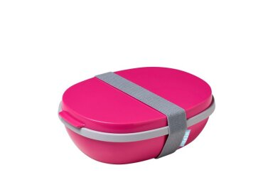Brotdose Ellipse Duo - Pink (rosa)