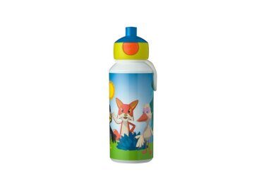 Trinkflasche Pop-up Campus 400 ml - Fabeltjeskrant