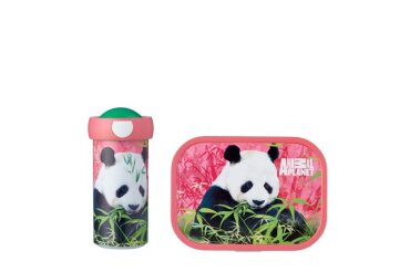 lunchset campus (vb+bd) - animal planet panda