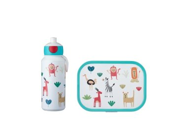 lunchset campus (pu+bd) - animal friends