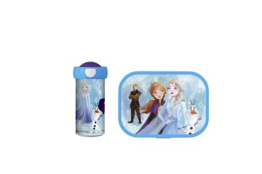 Lunchset Campus (Verschlussbecher + Brotdose) - Frozen II