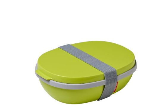 Lunchbox Ellipse Duo - Lime (hellgrün)