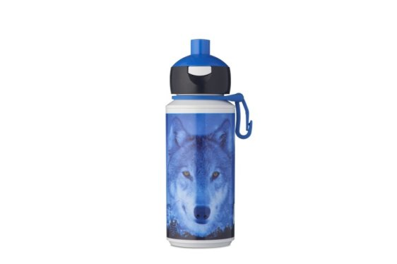 Trinkflasche Campus pop-up 275 ml - Animal Planet Wolf