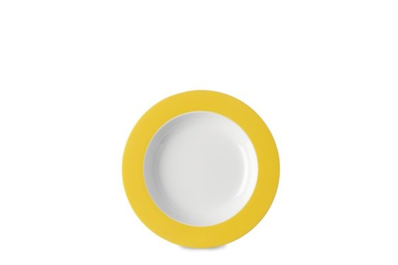 Suppenteller Wave 210 mm - Latin Yellow