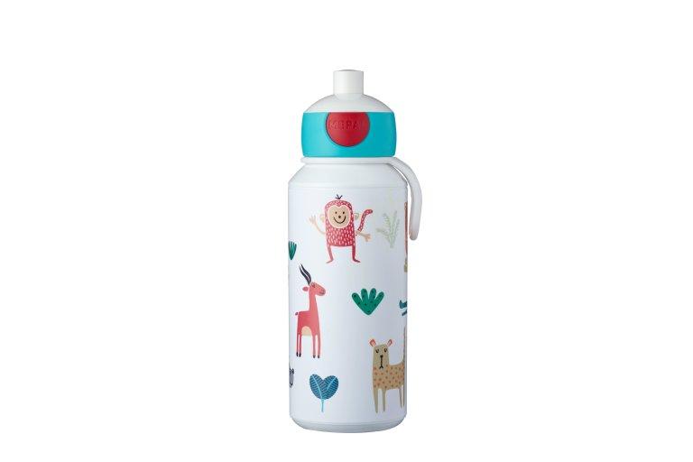 3b591e43f0a4 drinking bottle pop-up campus 400 ml - animal friends
