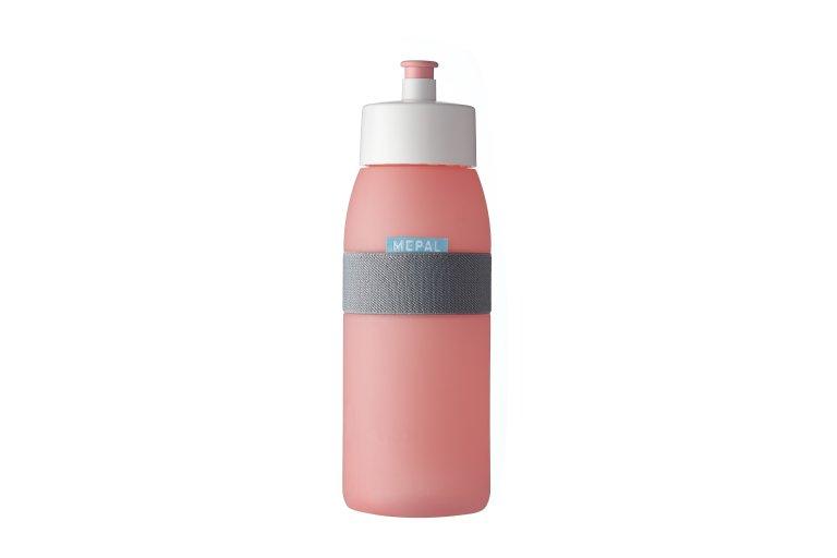 Botella para agua ellipse nordic pink