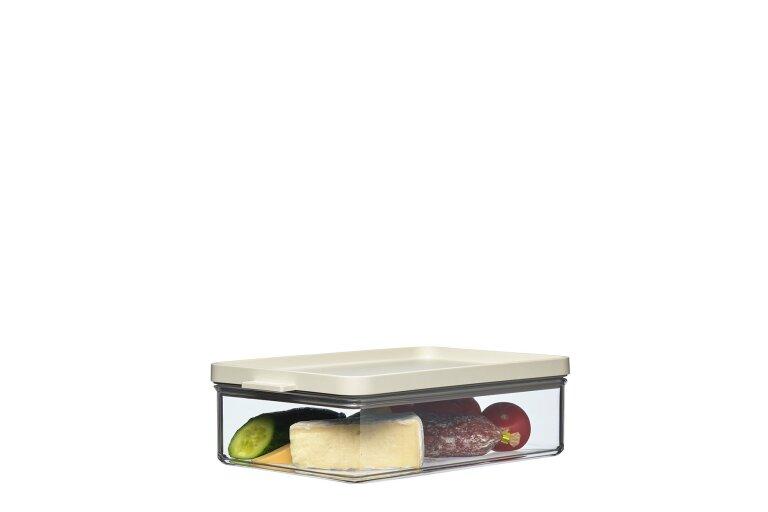Omnia Storage Box Rectangular 2000 ml NORDIC LEMON
