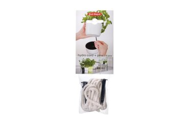 Hydro Herbs Pots Cotton Cord And Pin 5 Pcs