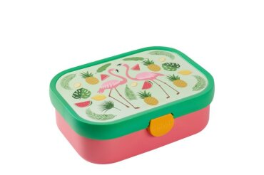 lunch box campus - tropical flamingo