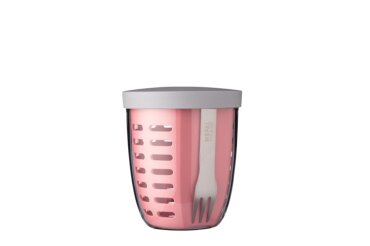 Fruit & veggie pot Ellipse - Nordic pink