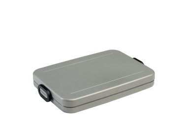 Lunchbox Take a Break flat - Silver