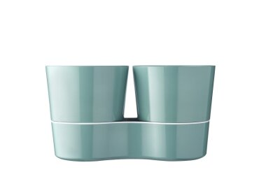 Hydro Herb Pot Twin - Nordic Green