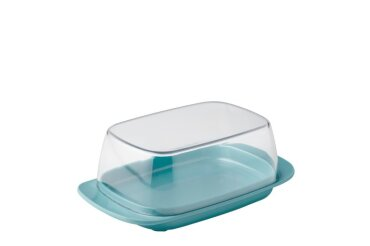 butter dish - nordic green