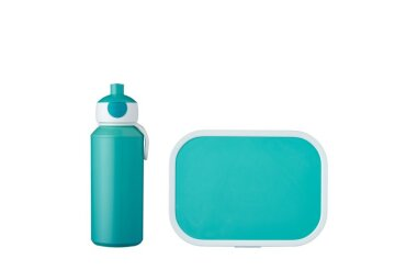 lunch set campus (pu+lb) - turquoise
