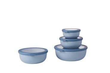 set cirqula 4 pcs (350+750+1250+2250) - nordic blue