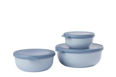 cirqula set 3 pcs (350+750+1250) - nordic blue