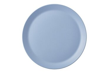 grande assiette bloom 280 mm - pebble blue