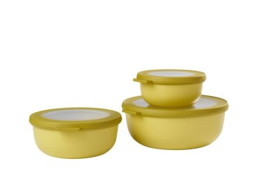 cirqula set 3 pcs (350+750+1250) - nordic lime
