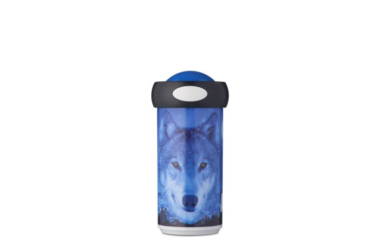 schoolbeker-campus-275-ml-animal-planet-wolf