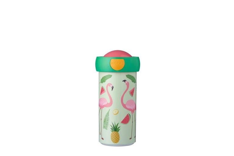 schoolbeker-campus-300-ml-tropical-flamingo