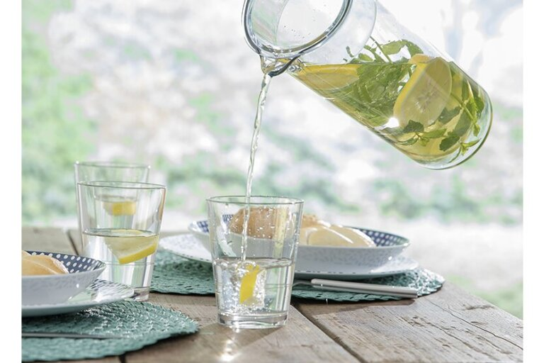 glas flow 275 ml helder mepal