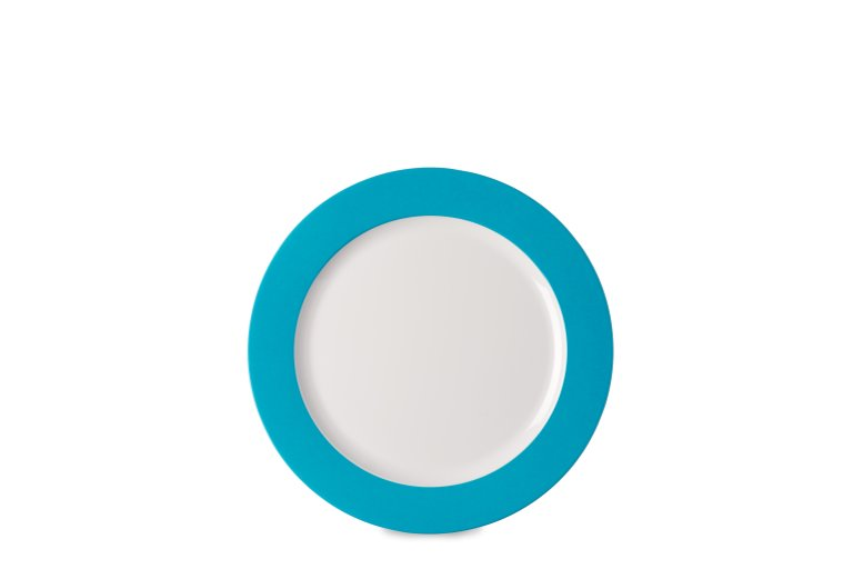 ontbijtbord-wave-230-mm-latin-blue