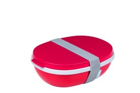 Lunchbox Ellipse duo - Nordic red