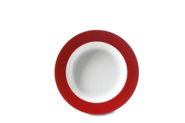 Diep bord Wave 210 mm - Luna Rood