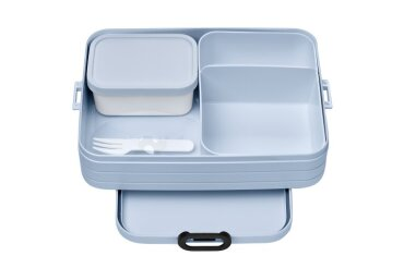 Bento lunchbox Take a Break large - Nordic blue