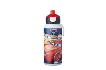 drinkfles pop-up campus 400 ml - cars
