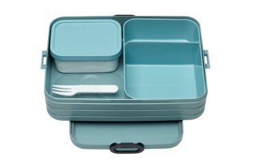 bento lunchbox take a break large - nordic green