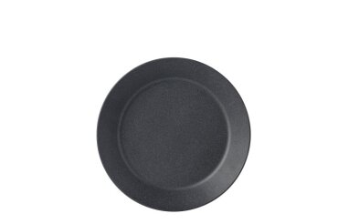 Diep bord Bloom 220 mm - Pebble black
