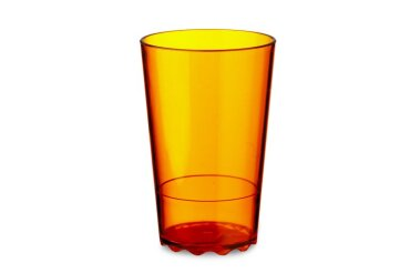 Glas Wave 200 ml - Eos Oranje