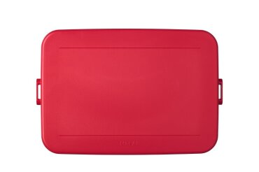 deksel (bento) lunchbox tab large / flat / xl - nordic red