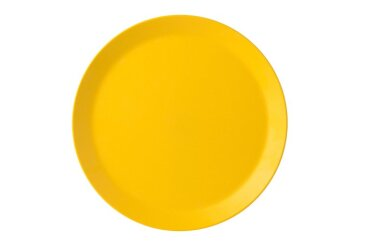 Plat bord Bloom 280 mm - Pebble yellow