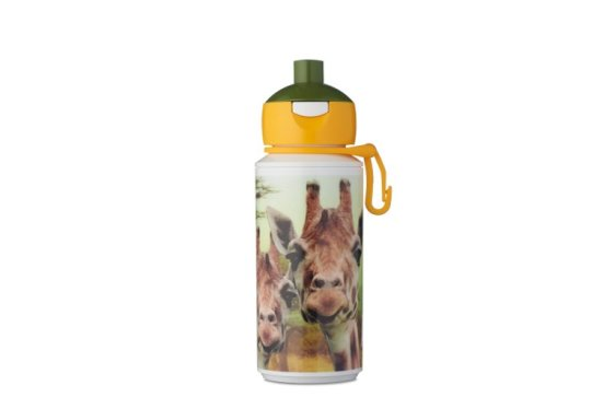Drinkfles Campus pop-up 275 ml - Animal Planet Giraffe
