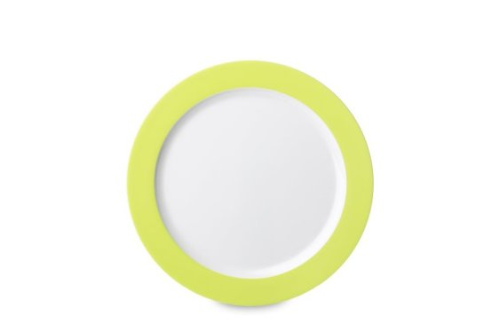 Plat bord Wave 260 mm - Latin Lime (lichtgroen)