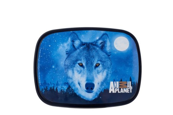 Lunchbox Campus midi - Animal Planet Wolf