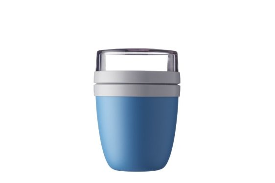 Lunchpot Ellipse - Aqua (blauw)