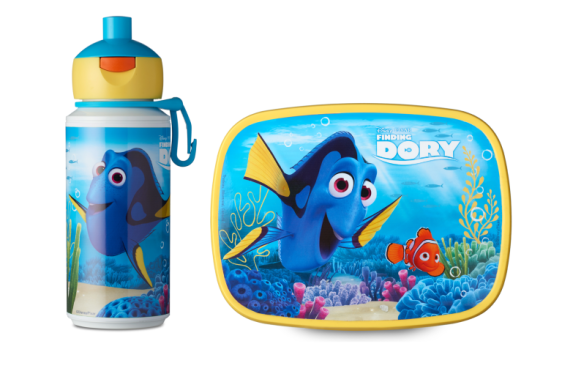 Lunchset Campus pop-up + lunchbox midi - Finding Dory