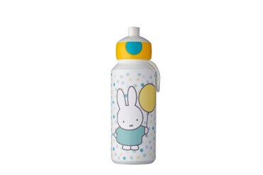 drinking bottle pop-up campus 400 ml - miffy confetti